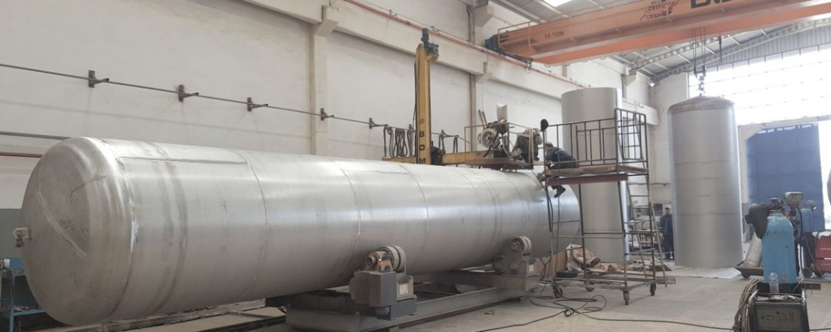 30 m3 Oxygen Tank